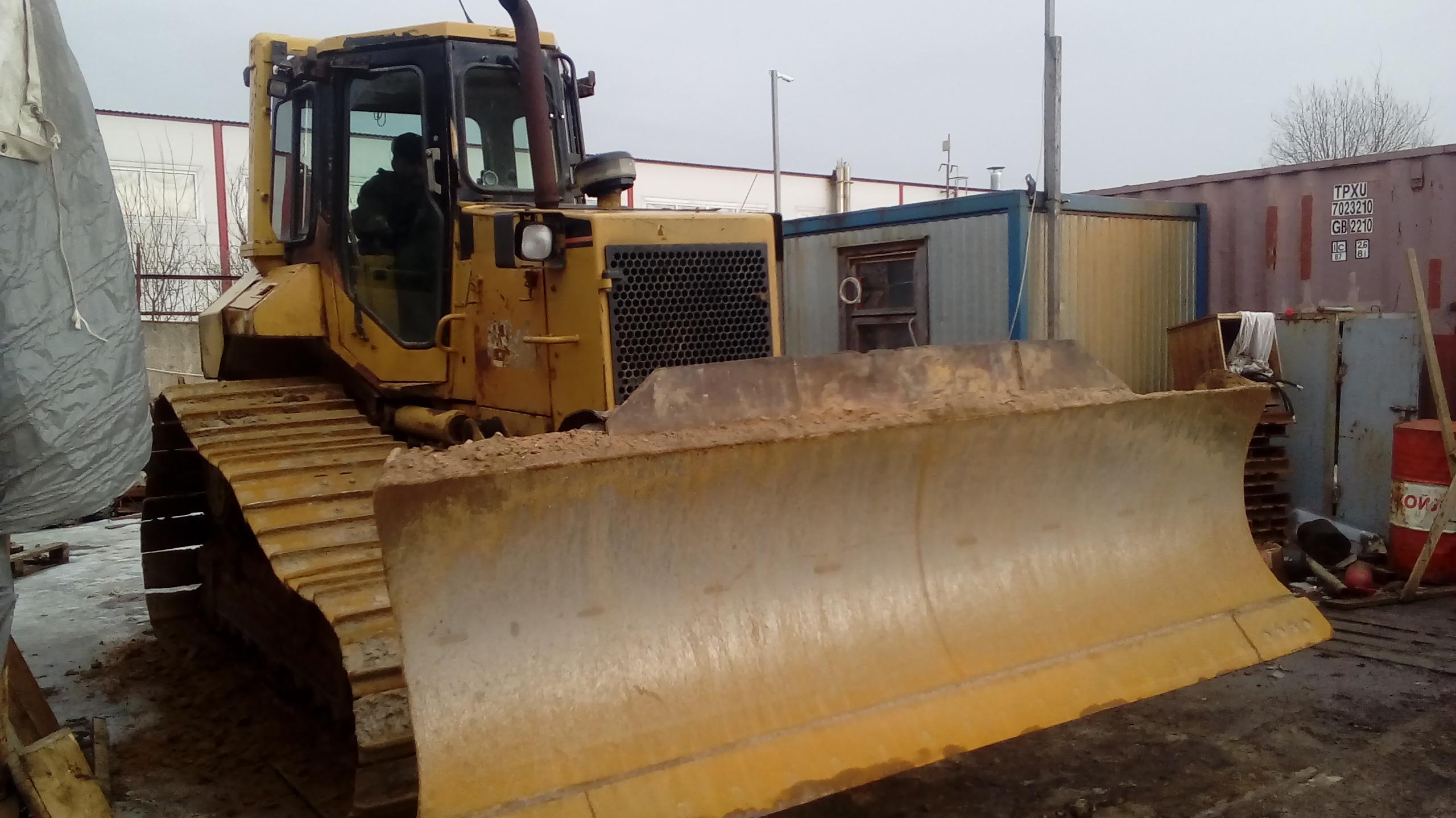 Бульдозер гусеничный 16 тонн планировщик